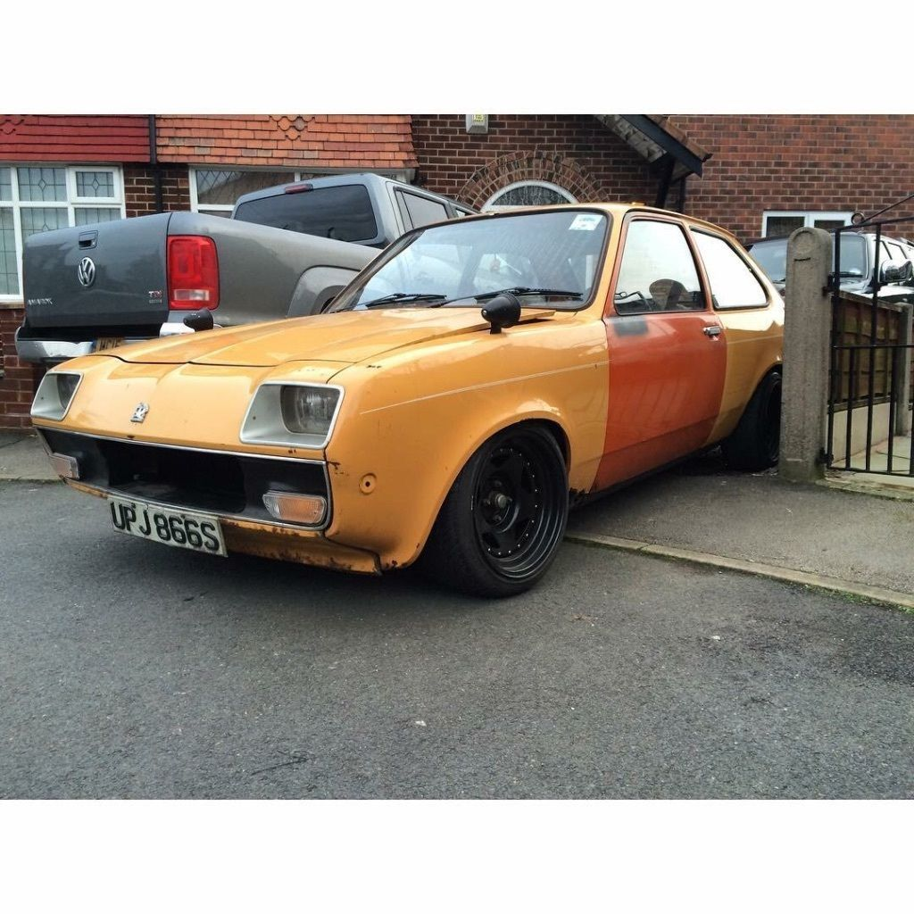 2.5 V6 Vauxhall Chevette Classic Track/Drift Car | Drifting cars ...