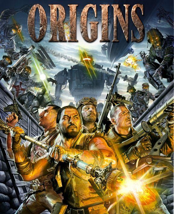 Origins Zombie Map : origins, zombie, Black, Zombies, Origins, Zombies,