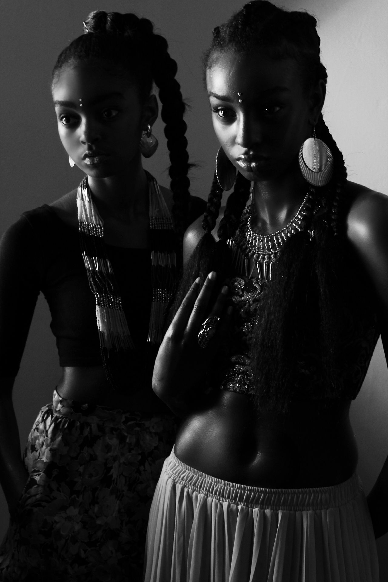 Hairy african ebony