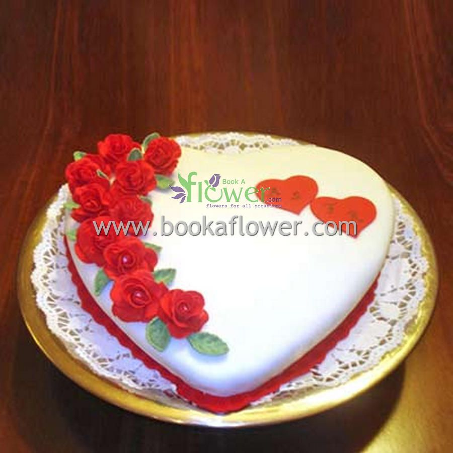 Planning for loved ones birth day celebration surprise them with planning for loved ones birth day celebration surprise them with this flower heart cake izmirmasajfo Image collections
