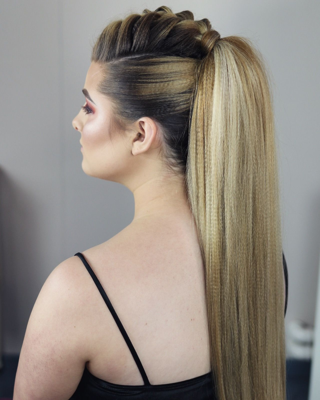 Gorgeous french braid ponytail sweethearts hair tutorials