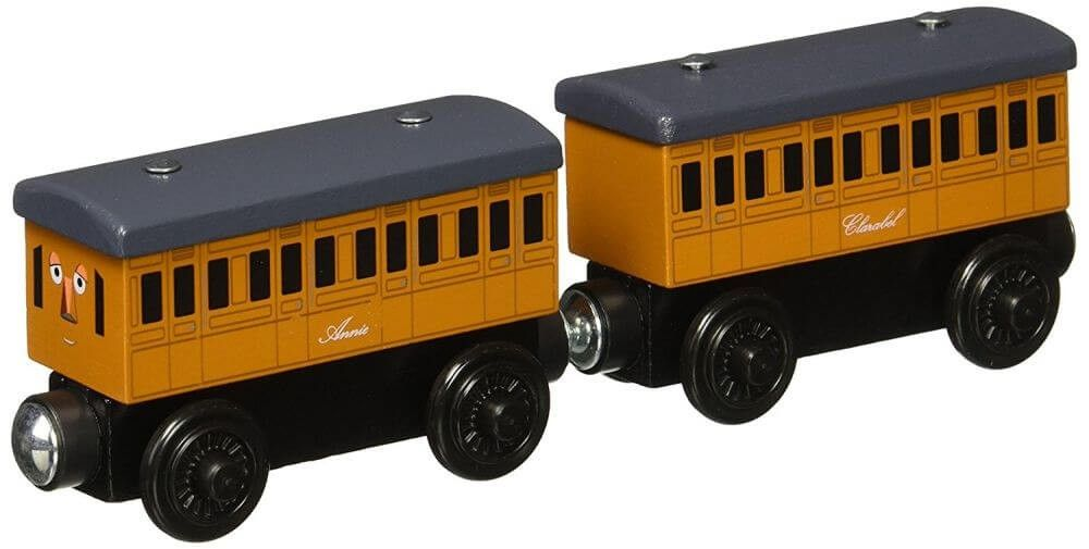 0b7570e3c218 Thomas and Friends Wooden Railway Annie and Clarabel Coaches