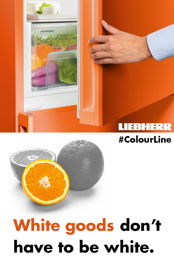 Colorful Kitchen Supplies: Liebherr ColourLine: Put Some Colour In Your Kitchen (With