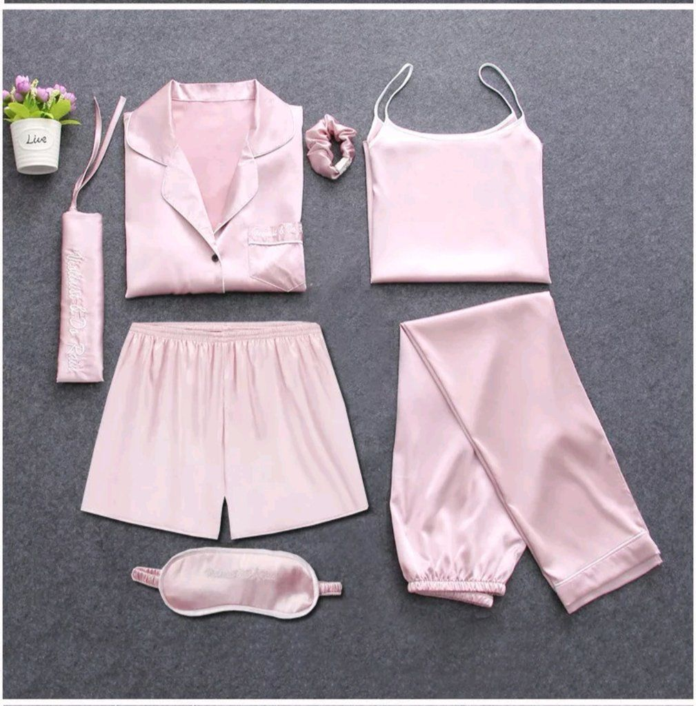 7-Pieces Nightwear Set. Find this Pin and more on Pajamas ... 462c4cebf