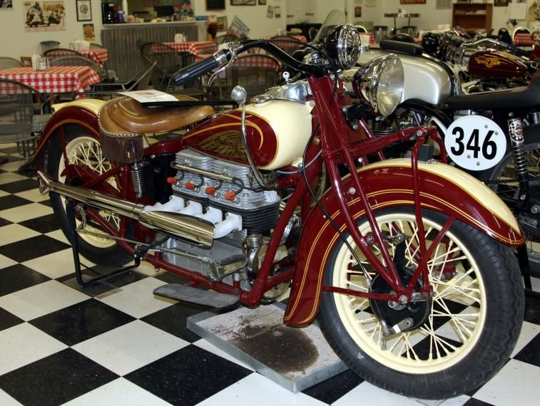 1938 Indian Four Classic Motorcycle Pictures Indian Motorbike Indian Motorcycle Classic Motorcycles