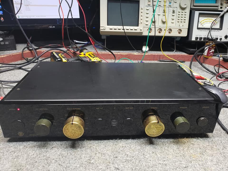 Professional Audio Video Service Repair If You Can Carry It We Can Fix It Home Vintage Stereo Audio Amplifier Repa Stereo Amplifier Audio Amplifier Stereo