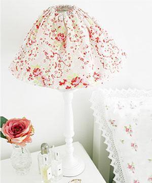 Floral Lampshade Floral Lampshade Crafts Diy Lamp Shade
