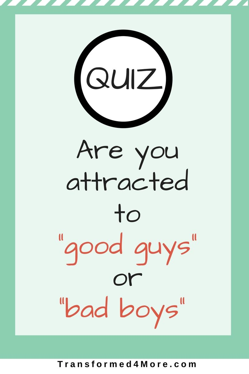 bad boy or good boy quiz