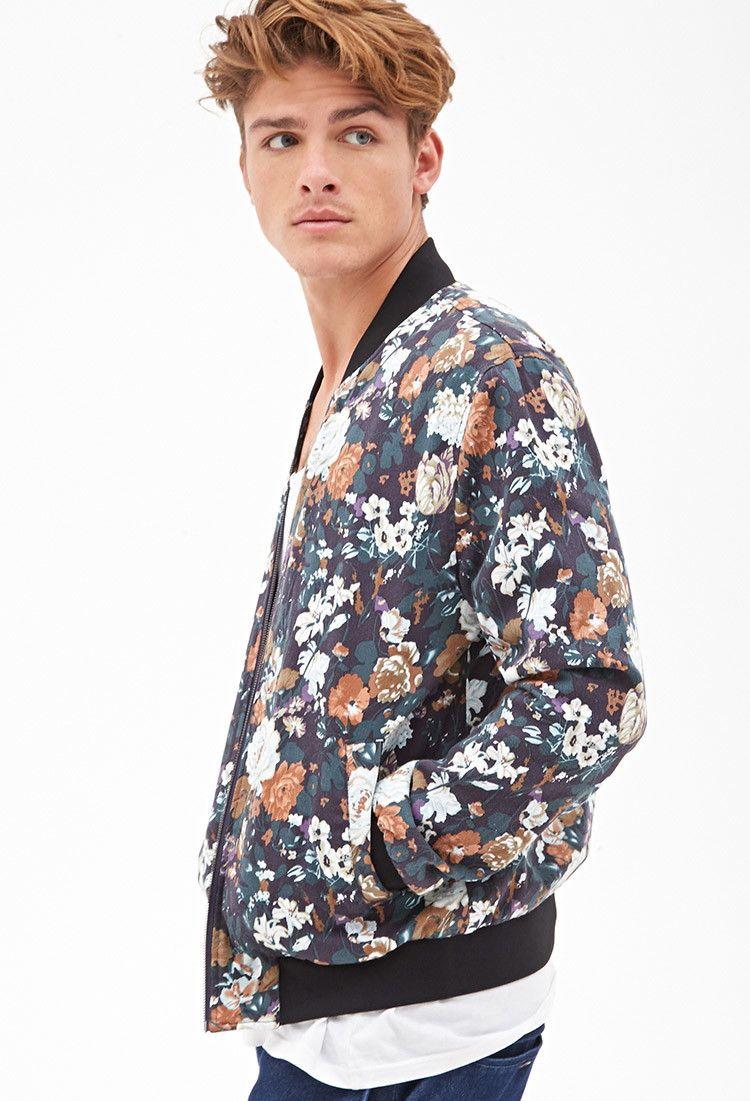 Floral Bomber Jacket Jackets Coats 2000057785 Forever 21