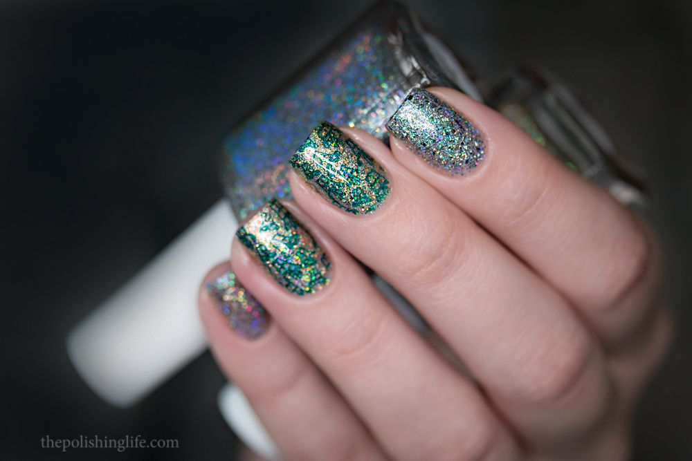 Glam Polish Life of Pi duo swatches and Happy New Year!