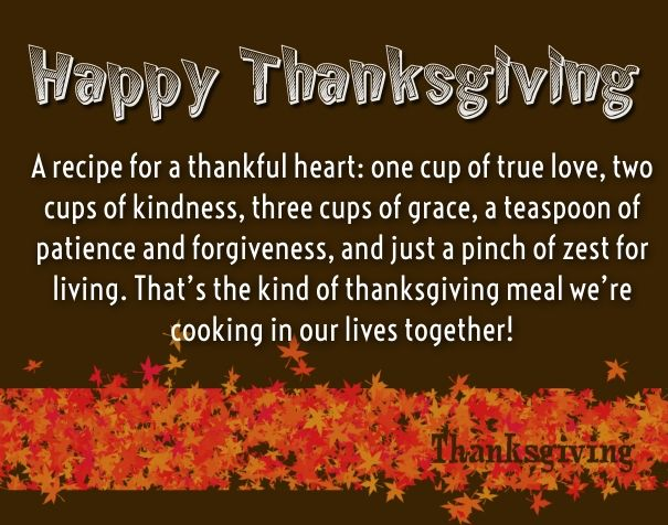 thanksgiving inspirational quotes Thanksgiving Wishes