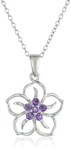 [$13.99 save 21%] Amazon #LightningDeal 86% claimed: Sterling Silver Gemstone Flower Pendant Necklace #LavaHot http://www.lavahotdeals.com/us/cheap/amazon-lightningdeal-86-claimed-sterling-silver-gemstone-flower/157826?utm_source=pinterest&utm_medium=rss&utm_campaign=at_lavahotdealsus