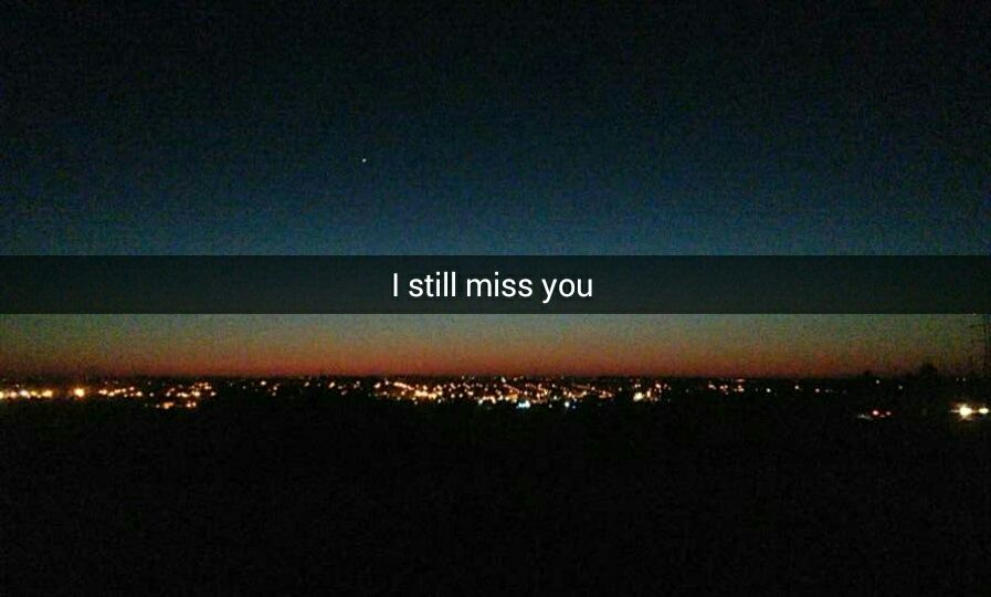 I Never Know Why But I Still Miss You