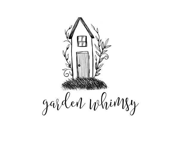 Home Logo Home Decor Logo Garden Logo Garden Decor Logo Barn Home Logo Business Logo Design Hand Logo