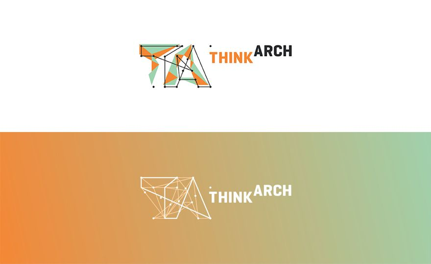Think Arch Architecture Competition Logo Design