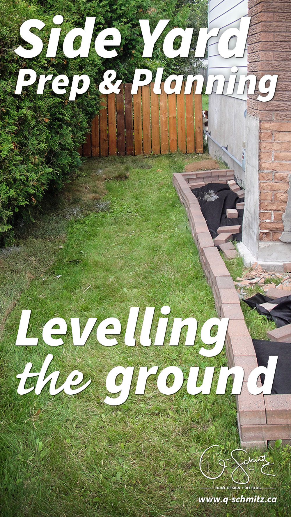 Starting the Side Yard Landscaping | Madness & Method #sideyards