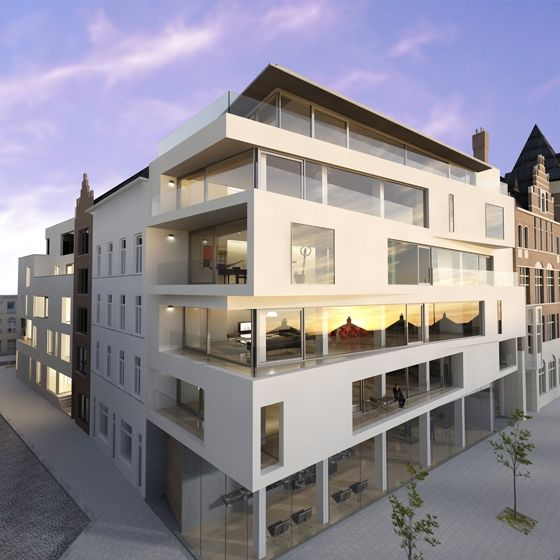 appartment building