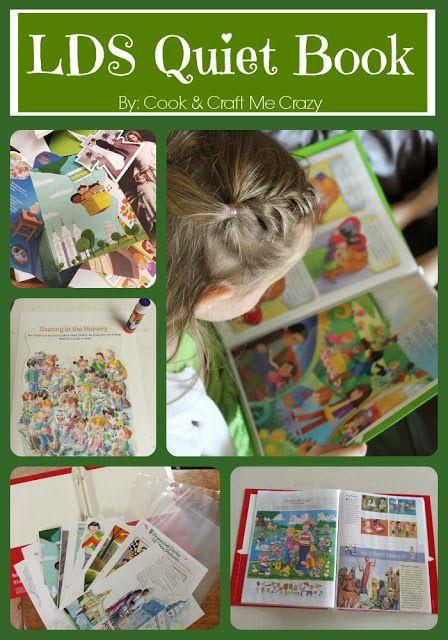 LDS Quiet Book/Folder (Make your own!) | Lds quiet book ...