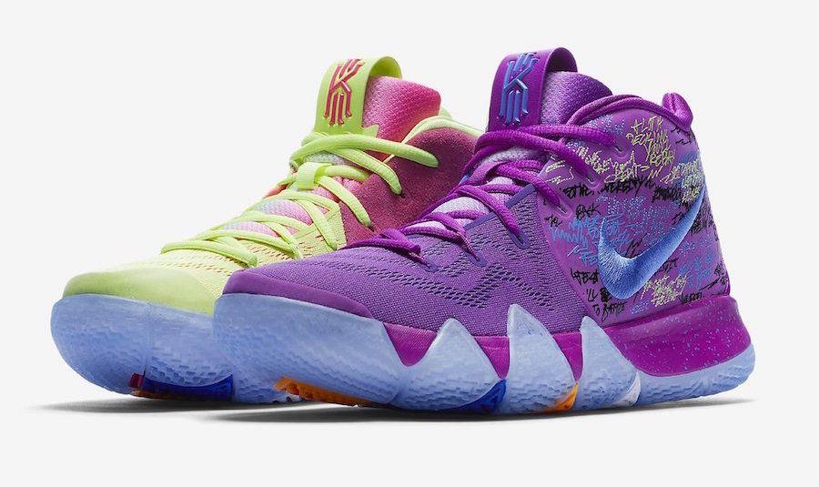 the best attitude ac370 1b127 Release Date: Nike Kyrie 4 Multicolor (Confetti)   all ...