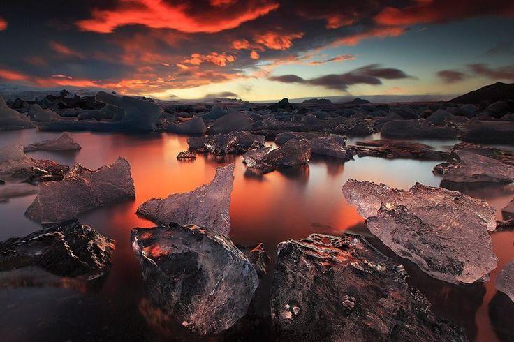 jökulsárlón iceland | Jökulsárlón, Iceland