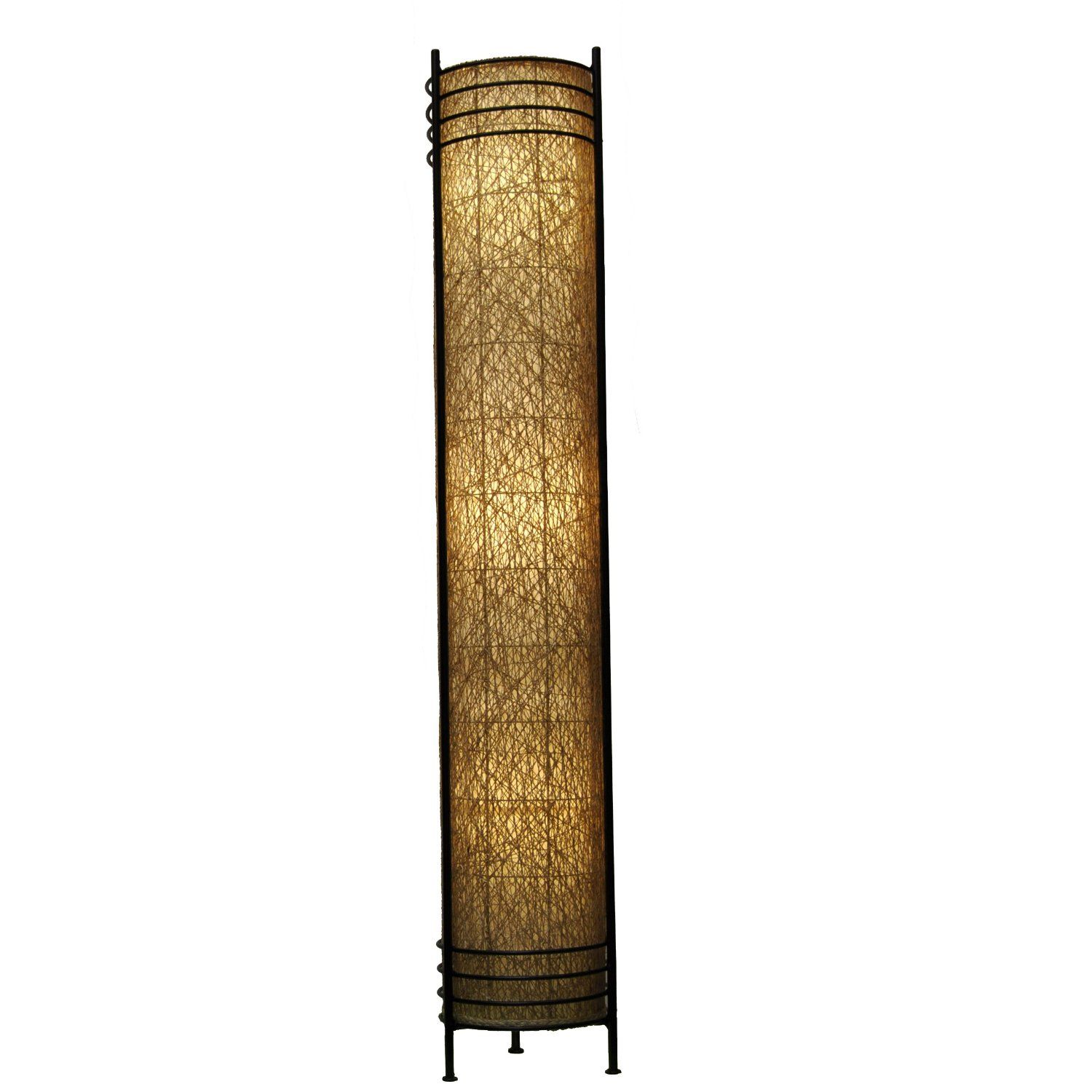 Amazon Com Eangee Tower Series Floor Lamp 48 Inch Tall Natural Floor Lamps Floor Lamp Large Floor Lamp Natural Floor Lamps