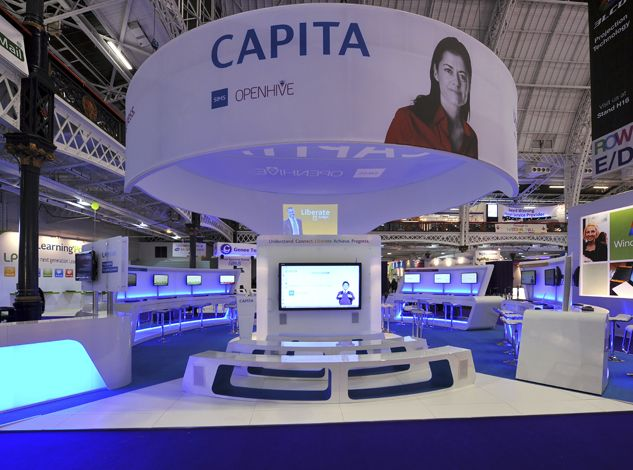 Capita Sims Bett 2012 London Olympia Exhibition Stand