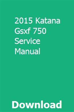 2015 Katana Gsxf 750 Service Manual Dodge Avenger Nissan