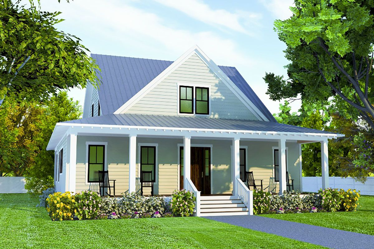 Plan 15276nc Classic Southern House Plan With First Floor Master Suite In 2020 Southern House Plan Southern House Plans Southern Living House Plans