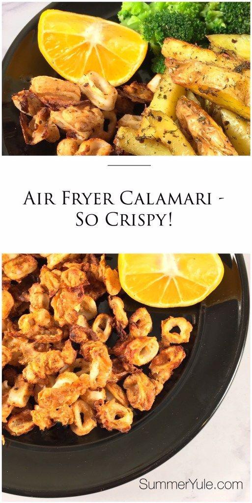 air fryer calamari large squid rings in 2020 Recipes