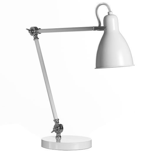 West Elm Industrial Task Table Lamp Currently Coveting Task