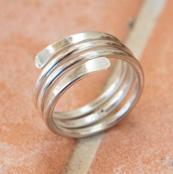 Stacker Women/'s Ring Solid Silver Band Ring Ring for Men 8mm Wide Silver Ring Finger Silver Ring Silver Wide Band Ring Thumb Ring Her