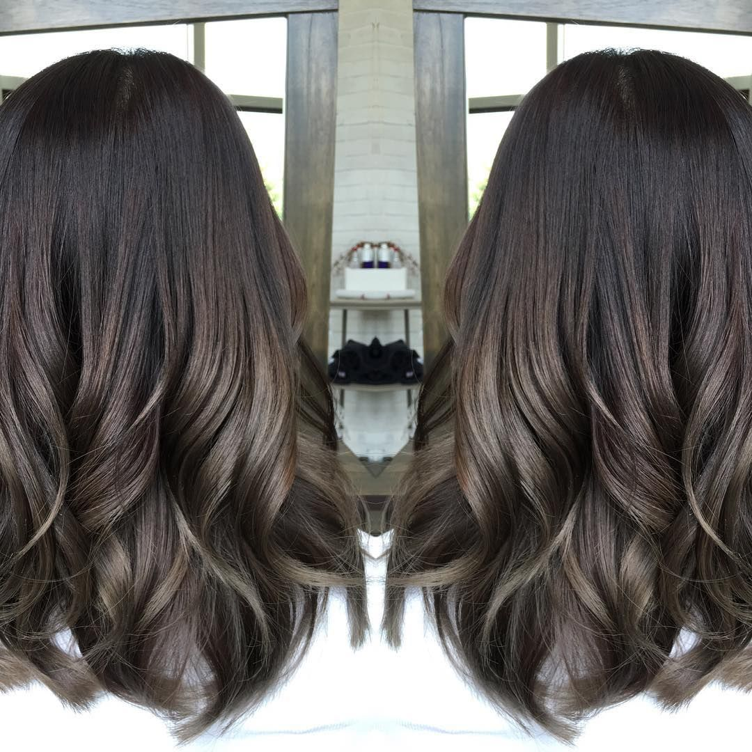 A Smooth Ombre Color Design In Healthy Glossy Ash Tones Www