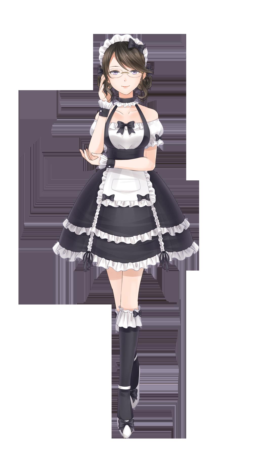 Anime Maid Outfits