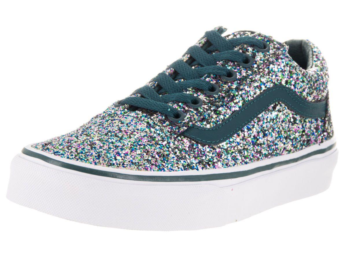 d8119ac7787 Vans Unisex Old Skool (Chunky Glitter) Skate Shoe in Sporting Goods