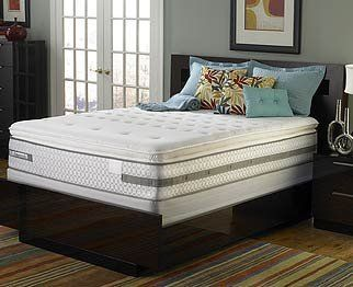 """Sealy Posturepedic Virtue Plush Euro Pillow Top Mattress Set Full by Sealy. $966.99. Posturetech coil unit. 10 year warranty. Mattress Height: 13 3/4"""". No flip construction. The all new Sealy Posturepedic mattresses are designed to eliminate tossing and turning caused by pressure points. Most people do not get the required 8 hours of sleep...in fact most people only average 6 hours of sleep. If you are only going to get 6 hours of sleep...Get a Better 6! Delivery is availa..."""