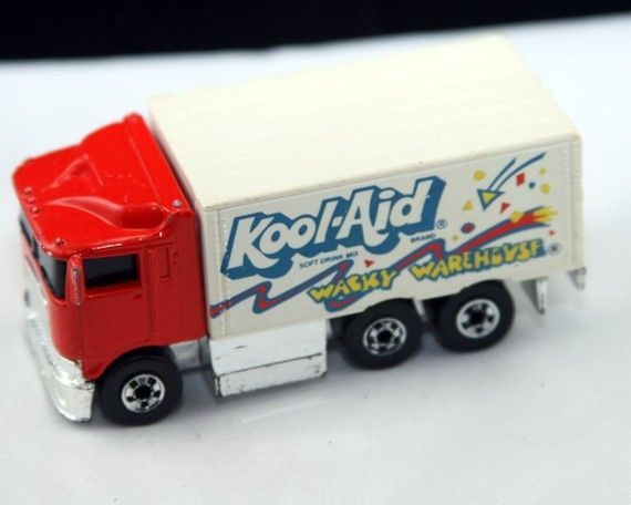 Hot Wheels Kool Aid Hiway Hauler Etsy Hot Wheels Chrome Wheels Kool Aid