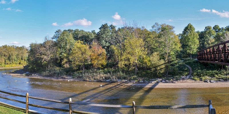 Discover lake metroparks chagrin river park with images