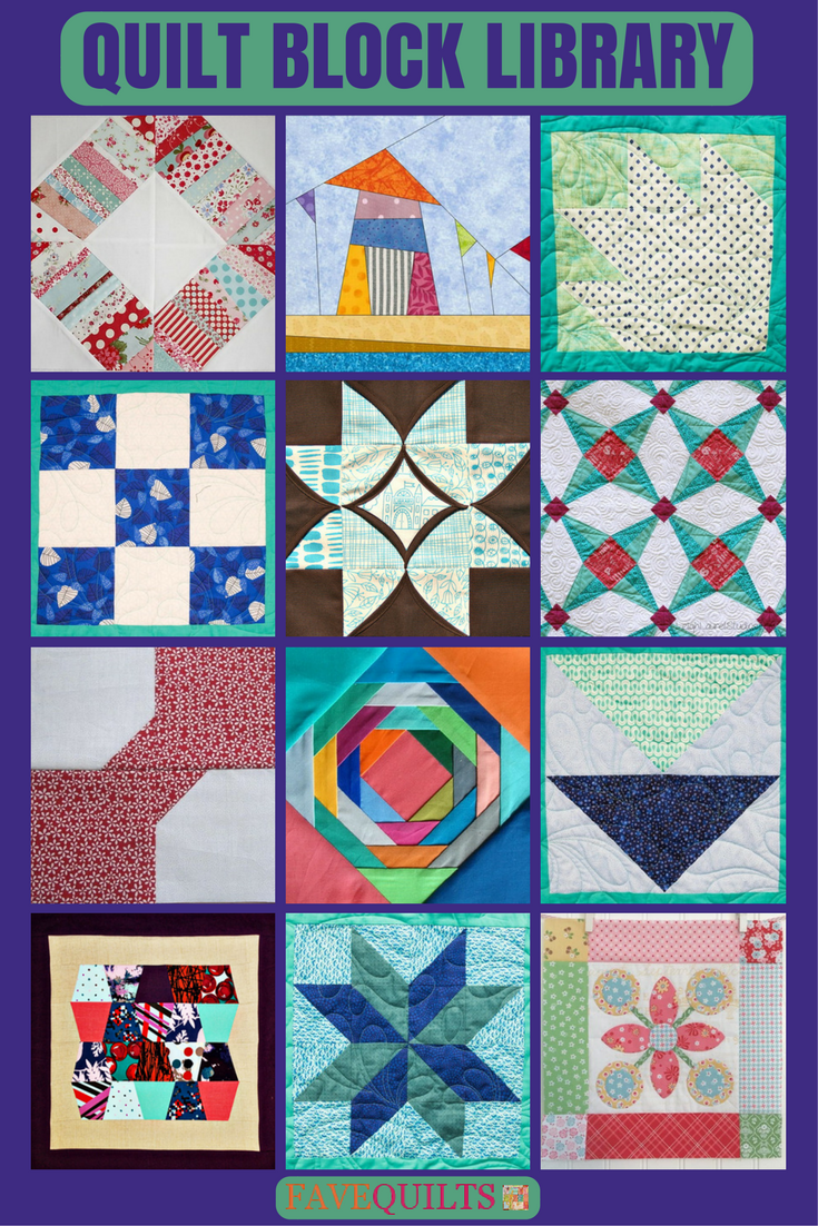 Quilt Block Library | Free quilt block patterns, Patterns and Free : quilt block library - Adamdwight.com
