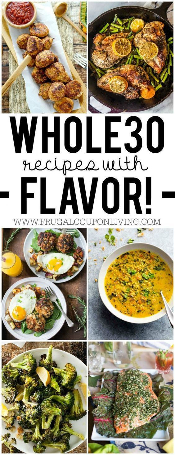 Whole 30 Recipes for Beginners Whole 30 recipes, Clean