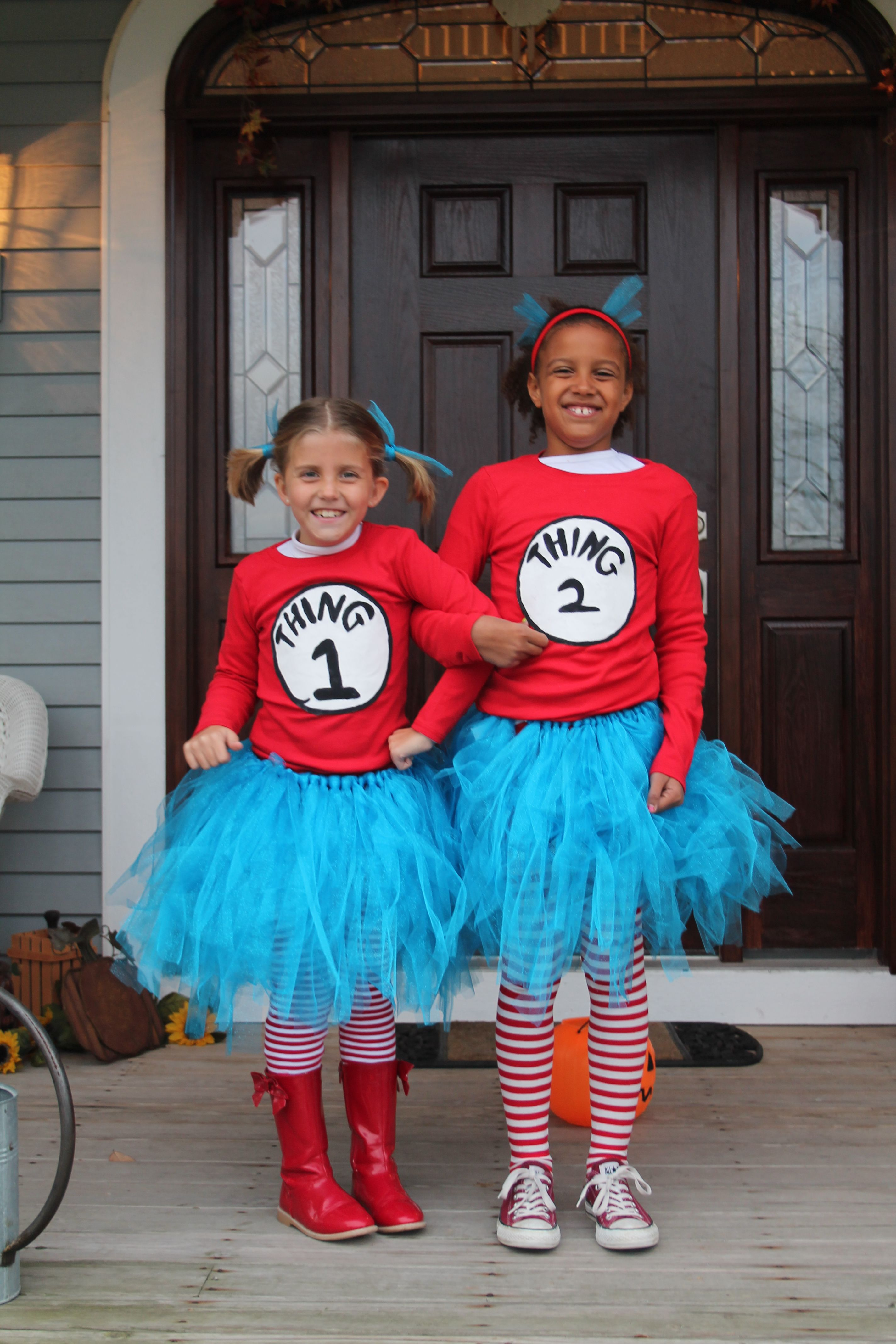Thing 1   Thing 2 Halloween Costume  80856469d