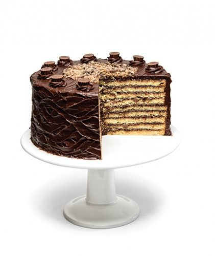 The famous Smith Island Cake from SugarBakers Baltimore magazine