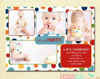 First Birthday Party Invitation