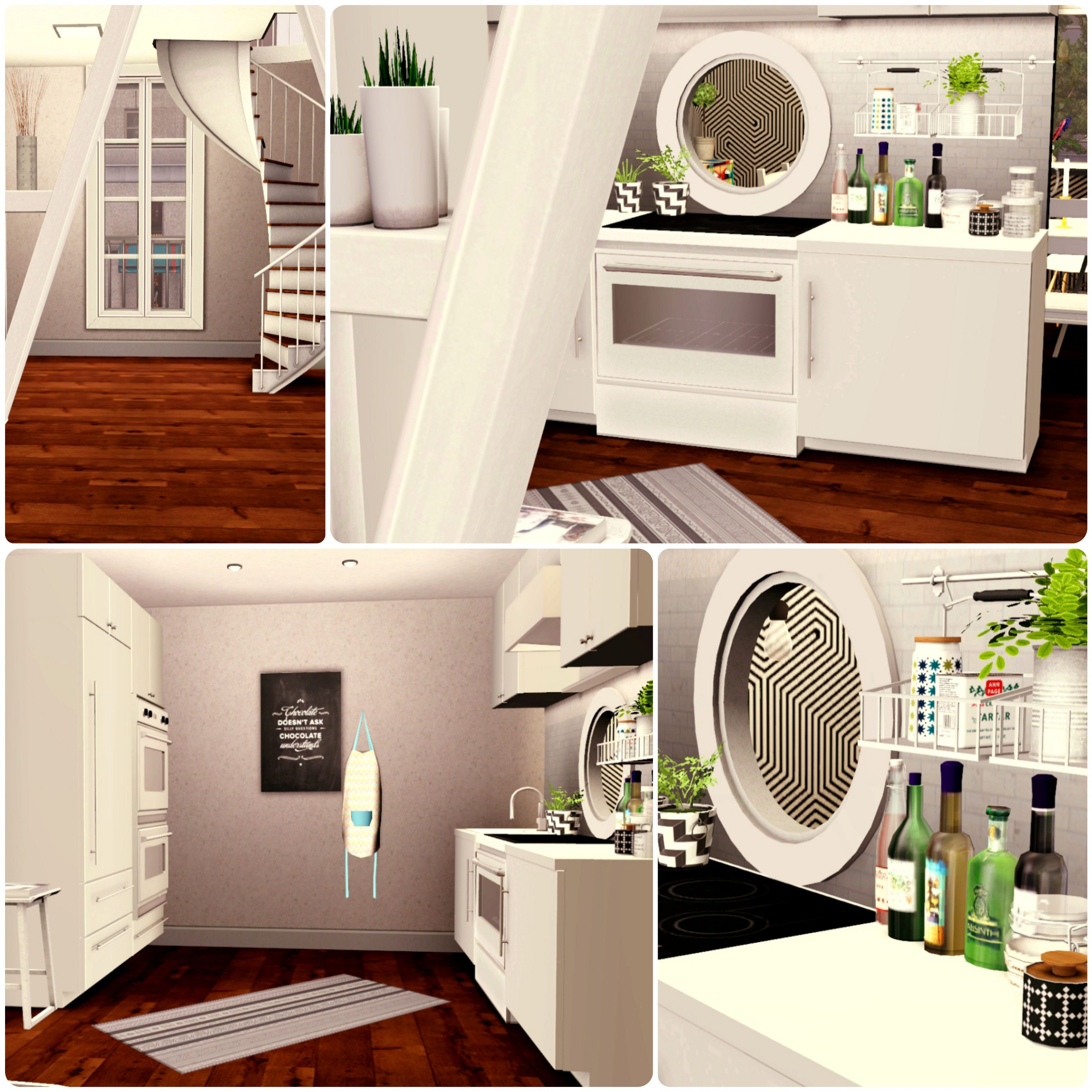 Urban Living By Simberry / Kitchen / Download / Sims 3