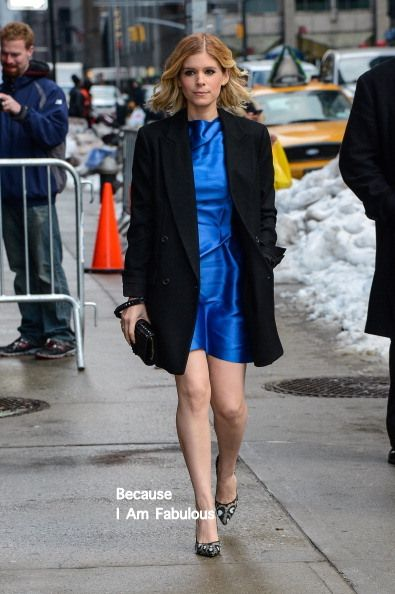 Fabulously Spotted: Kate Mara Wearing Roland Mouret - 'Late Show With David Letterman' - http://www.becauseiamfabulous.com/2014/02/kate-mara-wearing-roland-mouret-late-show-with-david-letterman/