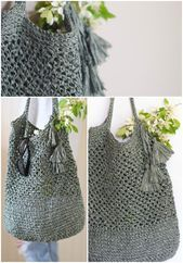 Photo of Free Crochet Bag Patterns – Totes/Purses/Shopping Bags – Craft Ideas  Free Croch…