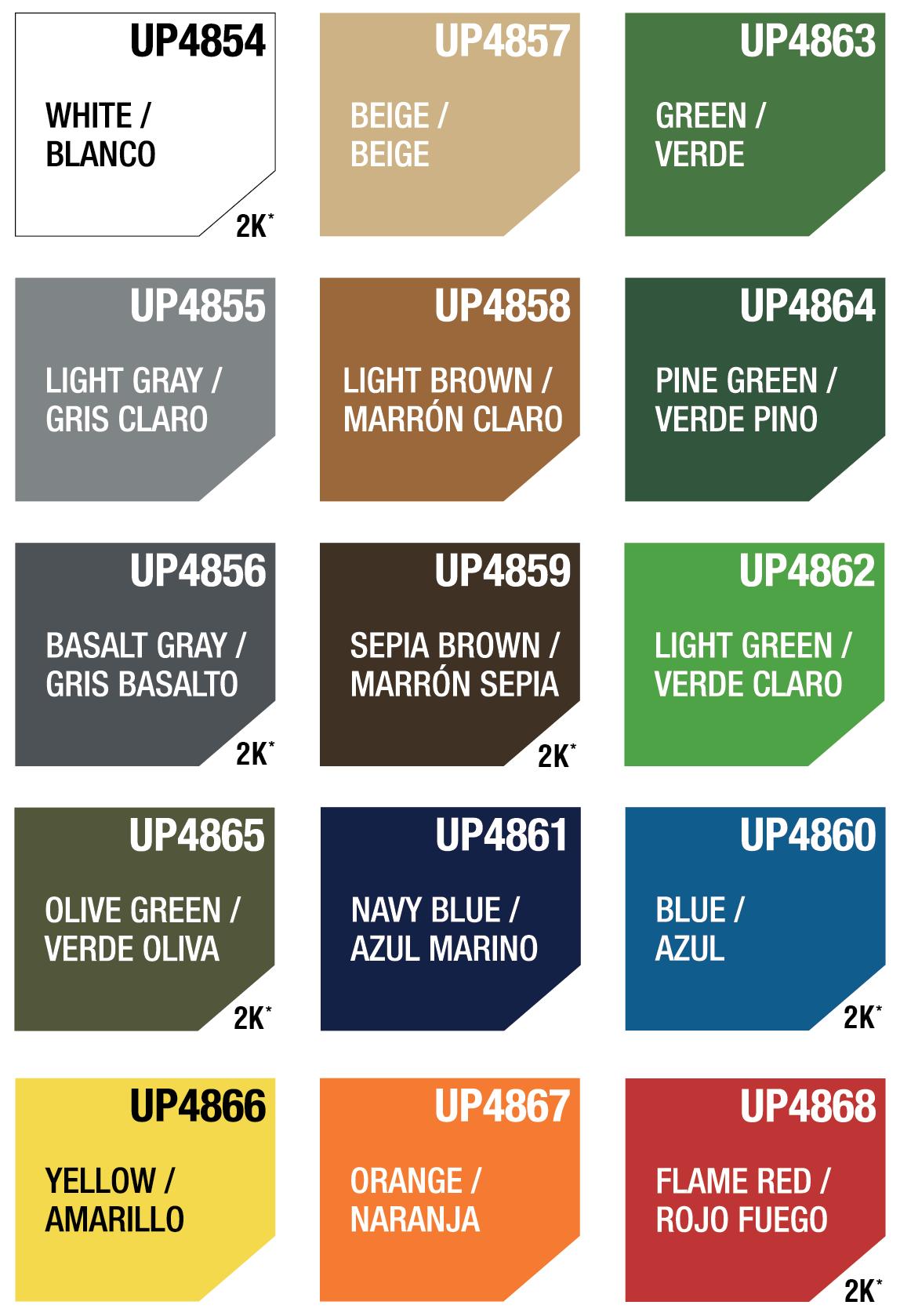 Light Brown U-Pol Raptor Color Tint Pouches