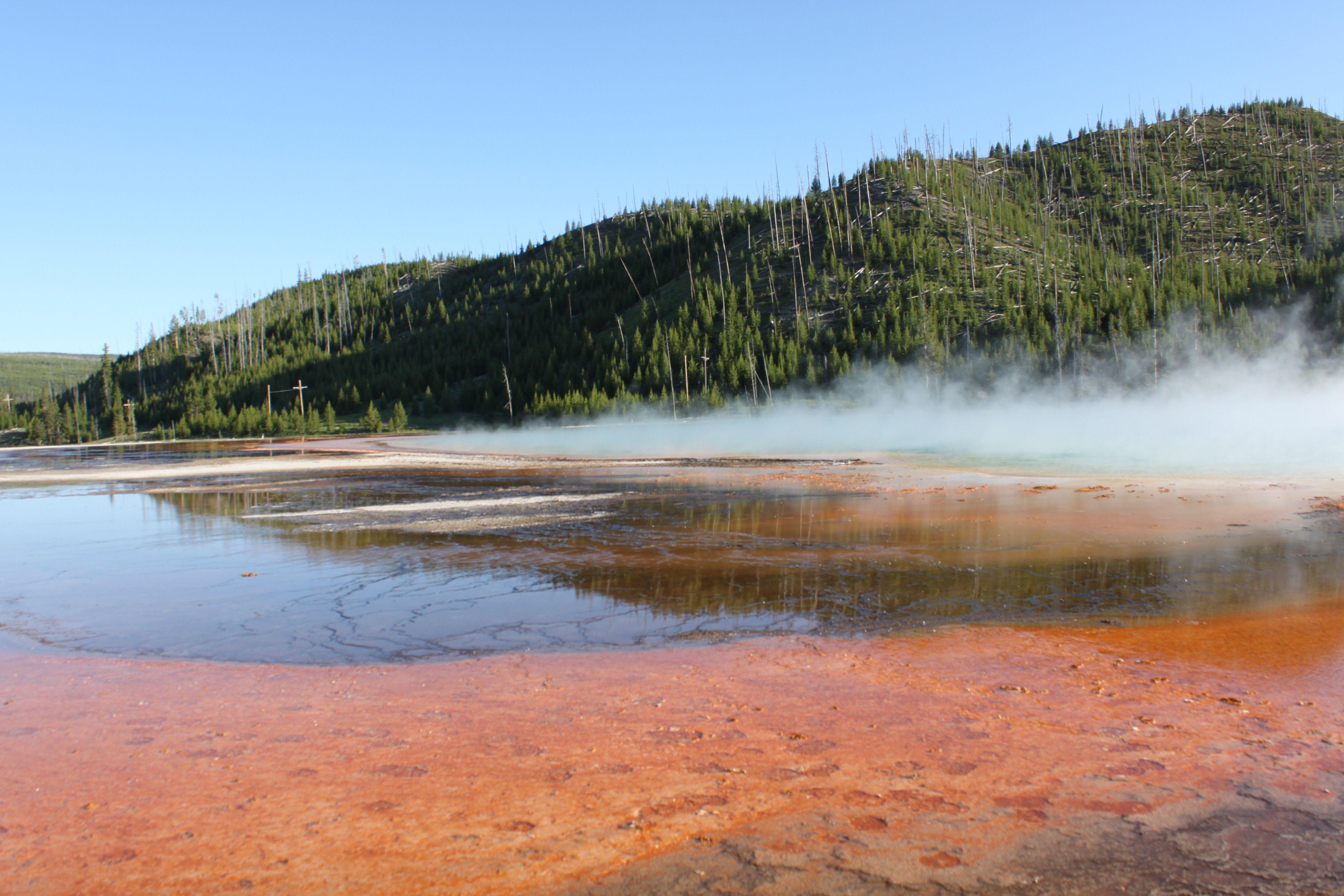 Grand Prismatic Spring, Yellowstone National Park, UNESCO