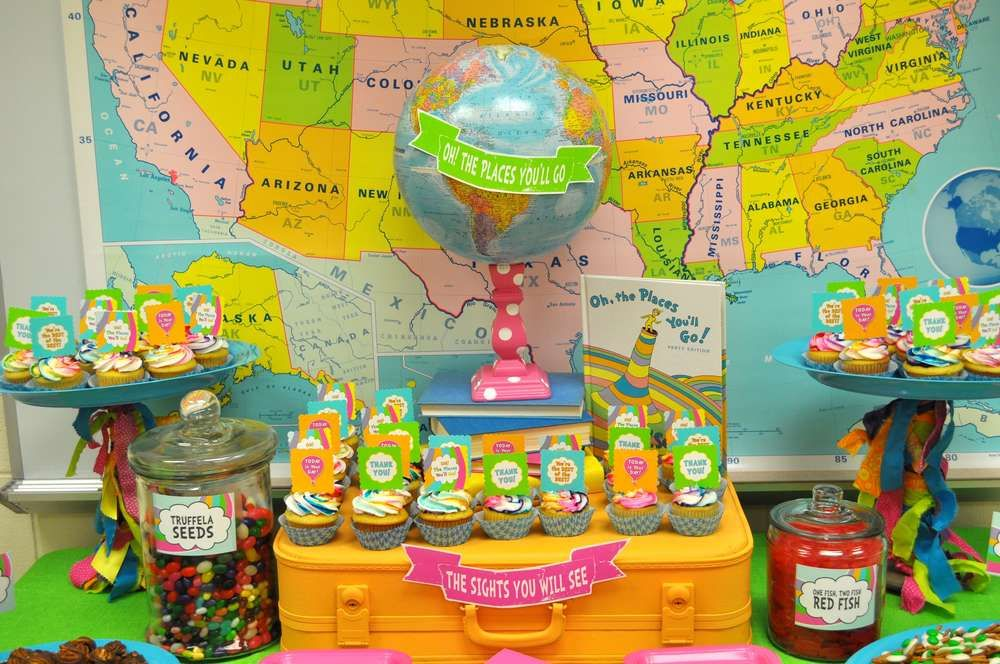 Oh! The Places You\'ll Go Staff Appreciation Party Ideas | Staff ...