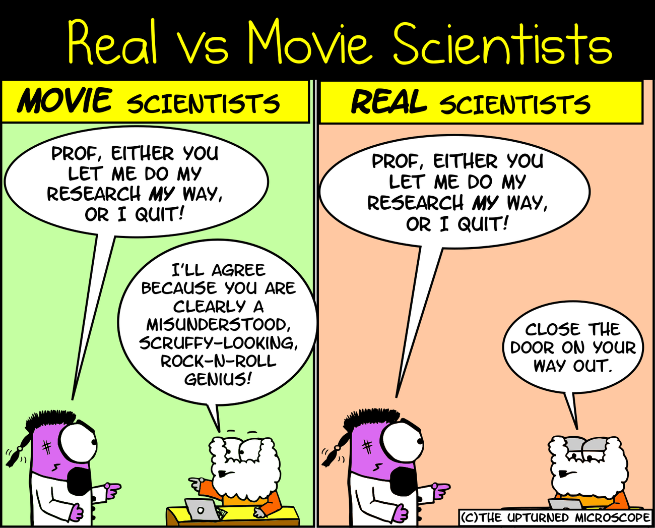 Movie Vs Real Scientists 11