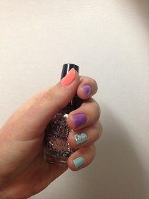 cute nails! #spring #nailpolish #fabulous